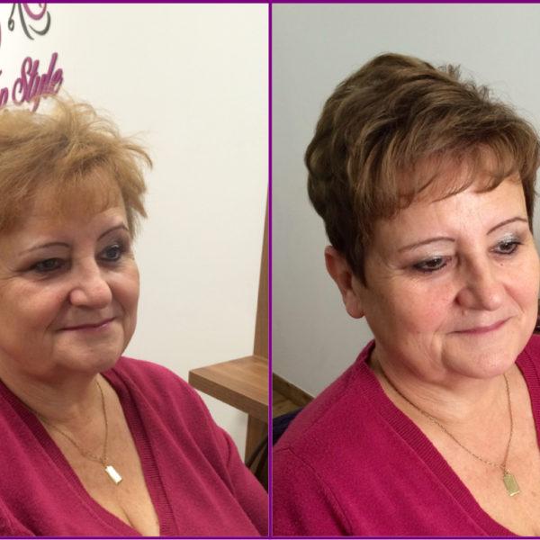 omlazení pomocí změny barvy vlasů od naší Top Stylist Moniky